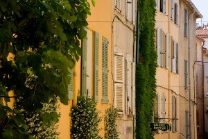 Faades de village - Saint Tropez
