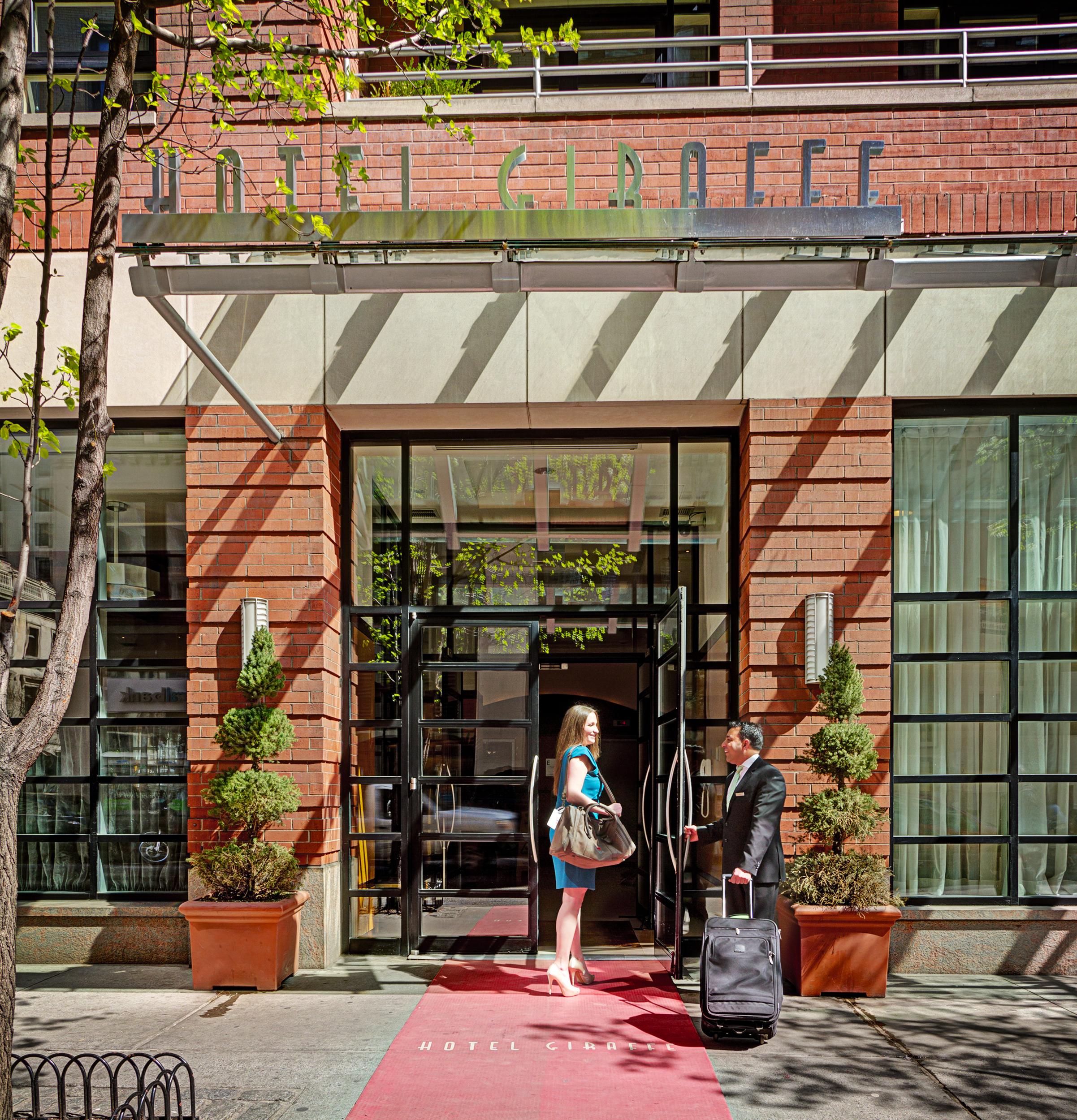 Boutique Chic: HOTEL GIRAFFE