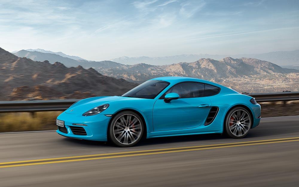 Cayman Porsche 2017 - 7